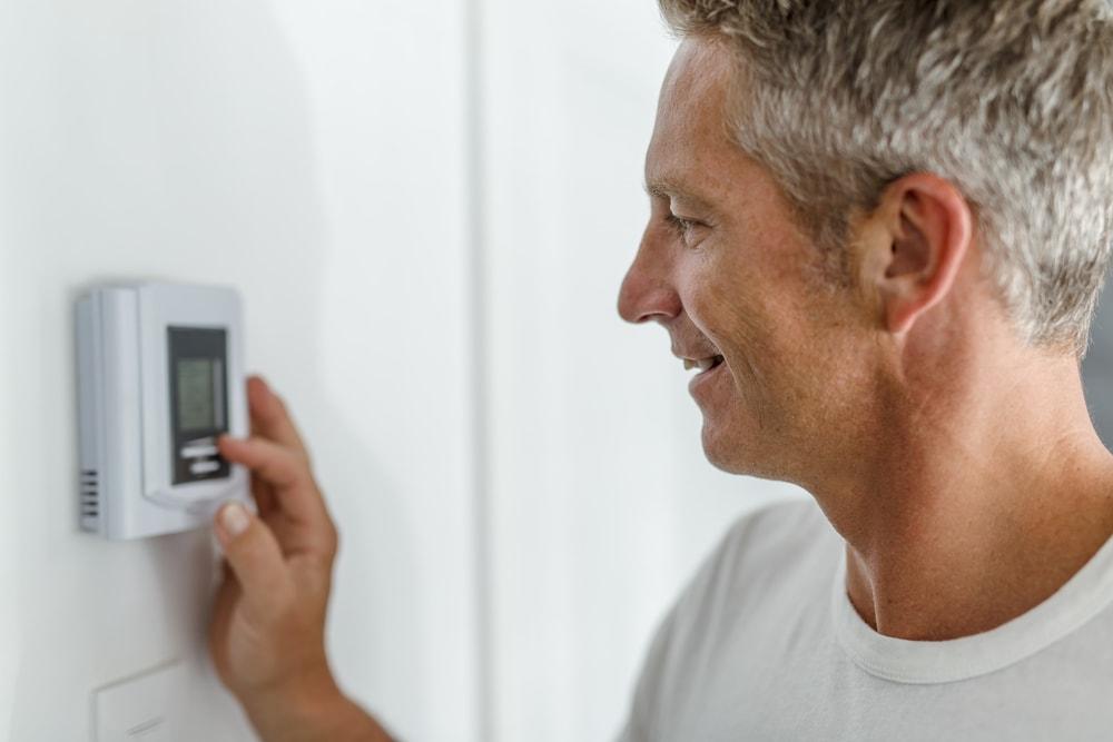Thermostat temperature 1