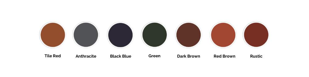 Renotec Roof Colours