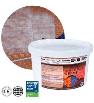 The clear waterproof masonry cream
